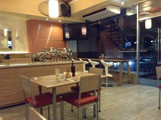 Kimberly Hotel: dining area