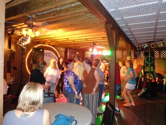 Westport, NY: Party Time On The Back Deck