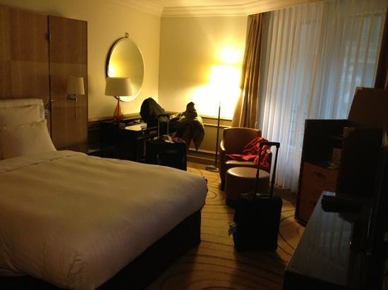 ‪‪Paris Marriott Champs Elysees Hotel‬: deluxe room‬