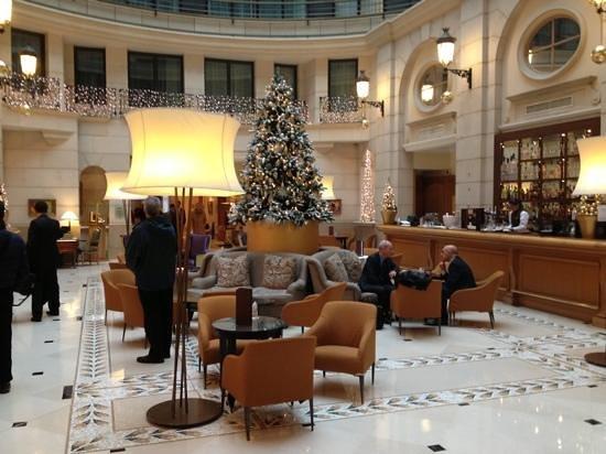 巴黎香榭麗舍大街萬豪酒店照片