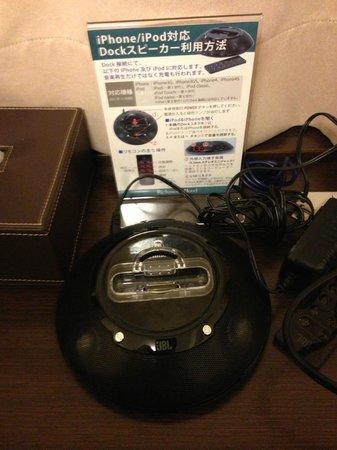 Richmond Hotel Sendai : iPhoneスピーカー