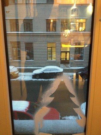 Filippov on Nevskiy Hotel: Вид из окна