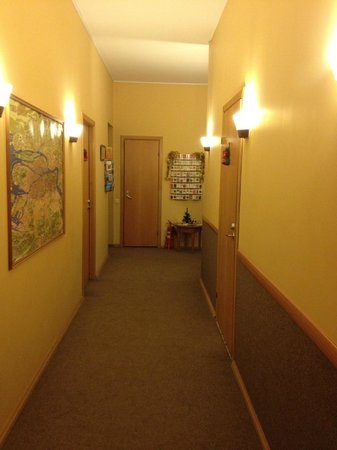 Filippov on Nevskiy Hotel : Коридор в отеле
