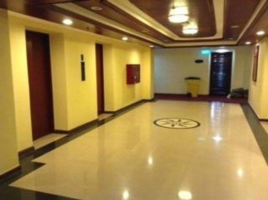 Bayview Park Hotel Manila: hallway