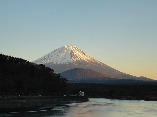 Shoji lake hotel : 部屋からの眺め