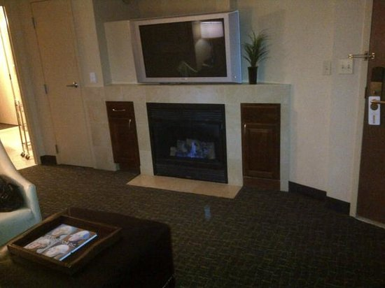 Beacon Hotel & Corporate Quarters: Fireplace in sitting room