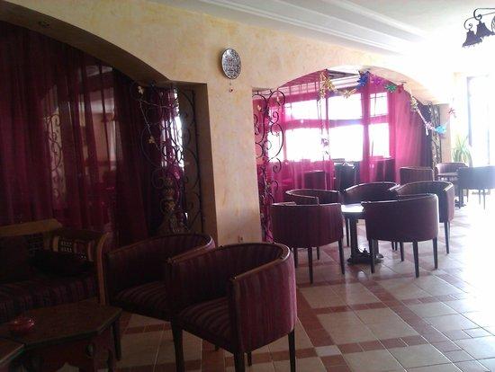 Hotel Dar El Bhar: salle resto