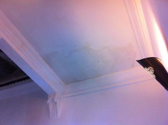 Riad Faiza GuestHouse-Hammam/Spa : damp patches