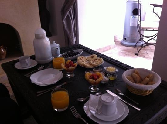 Riad Faiza GuestHouse-Hammam/Spa : nice breakfast