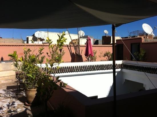 Riad Faiza GuestHouse-Hammam/Spa : terrace