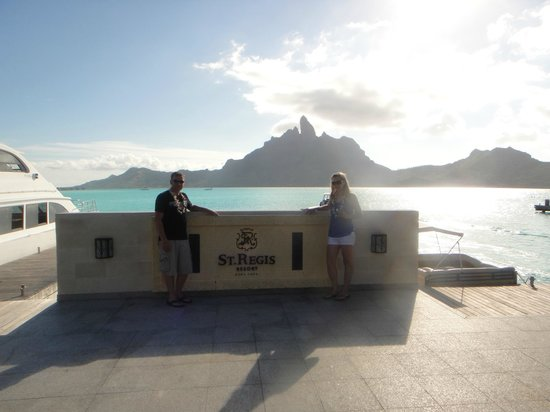 The St. Regis Bora Bora Resort: Arrival at the St. Regis