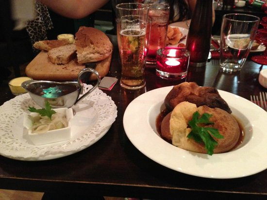 The Go Down : Yorkshire pudding starter
