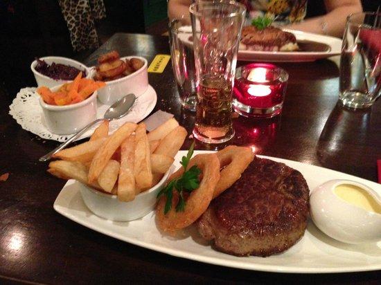 The Go Down : Steak (8oz I think) main