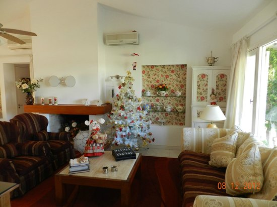 Red Wind B&B : sala de estar