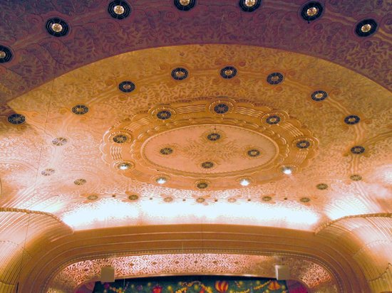 Cleveland Orchestra at Severance Hall: Celing