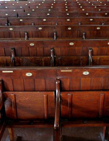 Central Sofia Synagogue (Tsentralna Sofiiska Sinagoga): Seats