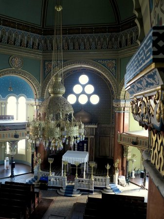 Central Sofia Synagogue (Tsentralna Sofiiska Sinagoga): From gallery 2