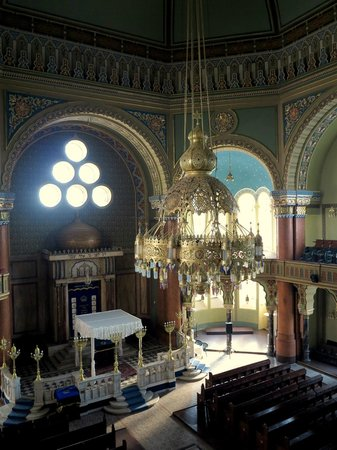 Central Sofia Synagogue (Tsentralna Sofiiska Sinagoga): Central chandalier