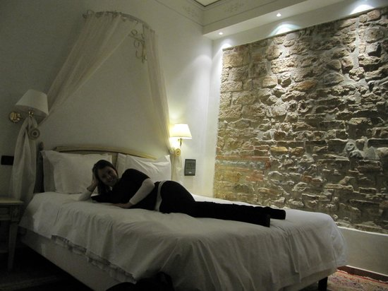 Hotel Davanzati: our room.