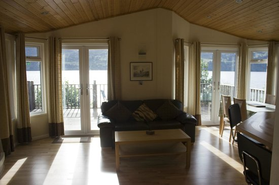 Loch Ness Highland Lodges: Living area