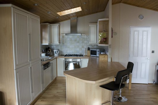 Loch Ness Highland Lodges: Kitchen area