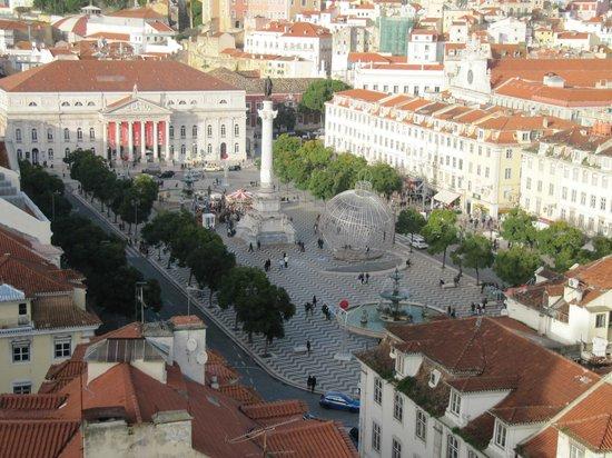 Casa De Sao Mamede: panorami di lisbona