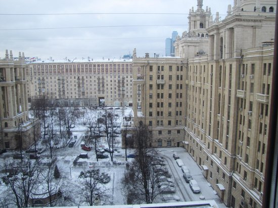 Radisson Royal Hotel Moscow: Out the window
