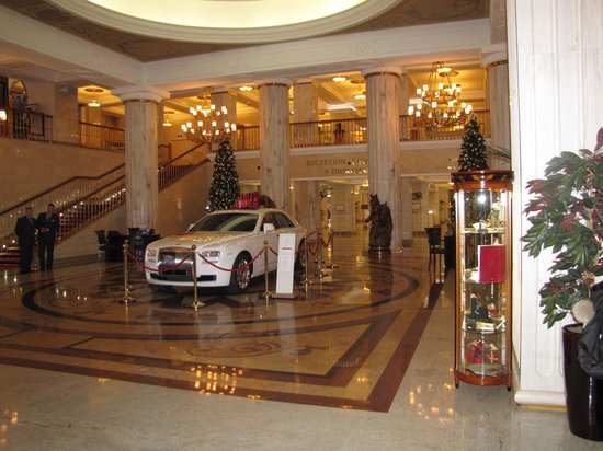 Radisson Royal Hotel Moscow: The hotel entrance