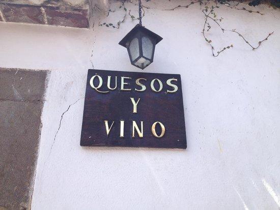 Quesos Y Vino: Great Italian food