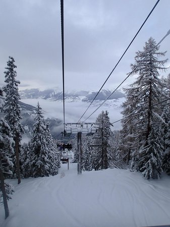 Club Med Peisey-Vallandry: First chairlift up
