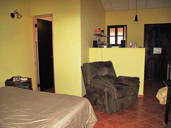 Valle Primavera : Studio interior - settled in for 3 weeks