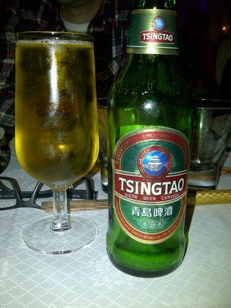 Chez Moi : biere chinoise Tsingtao