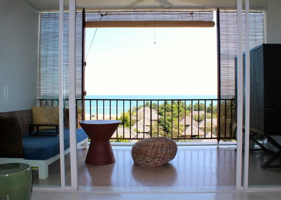 Yaiya Hua Hin: View from 5th floor (top floor) seaview room balcony
