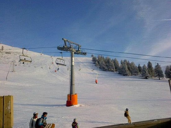 Krvavec: Chairlifts to top