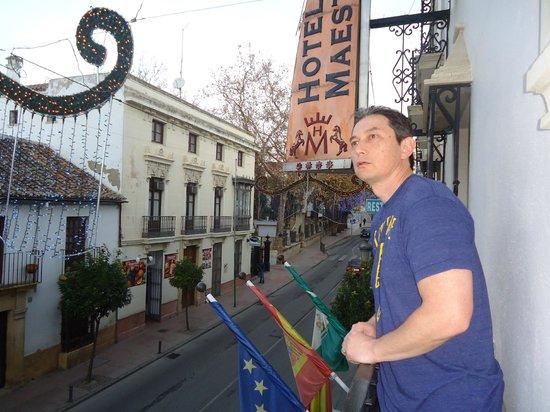 Hotel Maestranza: Balcony- Room 102