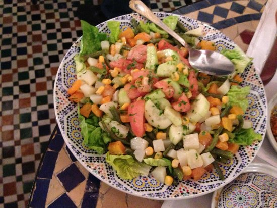 Riad Kettani: salade