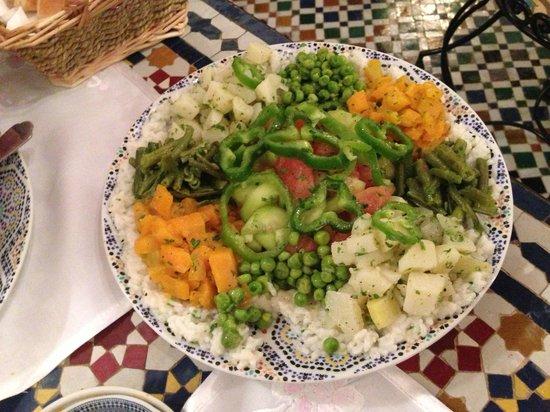 Riad Kettani FES: salade