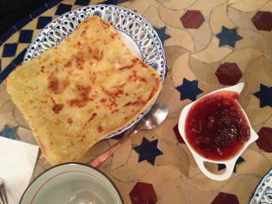 Riad Kettani: petit déjeuner