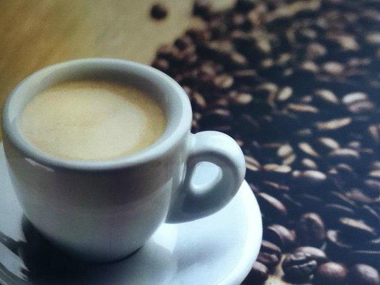Chai Latte Cafe: freshly ground espresso coffee.