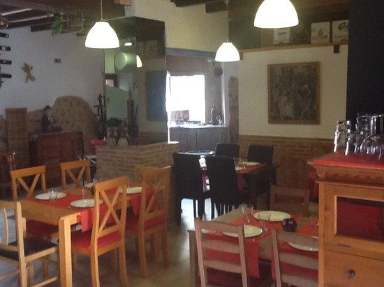 Benidoleig, Spania: El comedor