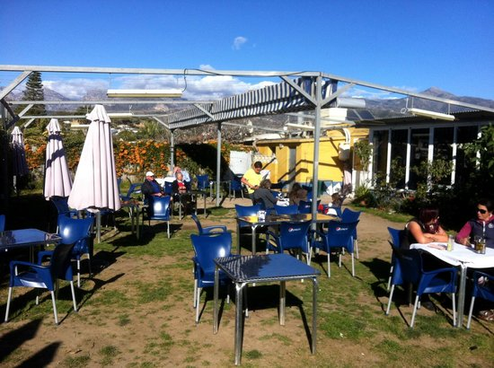 Chiringuito Mauri : Outside dining