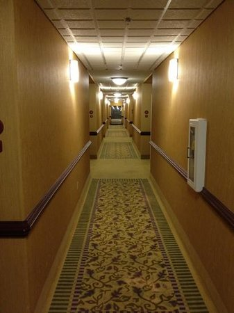 Sleep Inn & Suites Pooler: First Floor Hallway