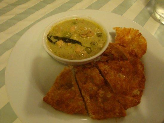 Bangkok Food Tours: Hühnchen mit Thai-grün-Curry