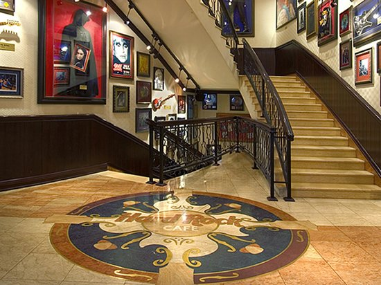 Hard Rock Cafe : The 1st floor