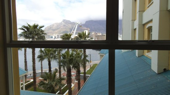 The Table Bay Hotel: vista su Table Mountain