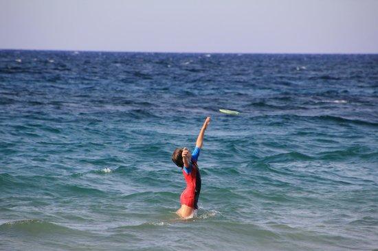 Porta del Mar Beach Hotel: frisbee