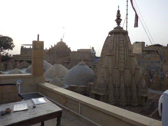 Hotel Deep Mahal: Rooftop Terrace