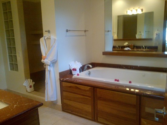 The Phoenix Resort:                   master bathroom