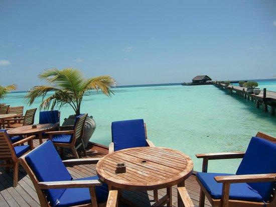 Olhuveli Beach & Spa Resort: terrazas