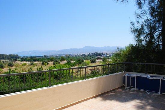 Nicki Holiday Resort Polis: Terrazza del nostro appartamento